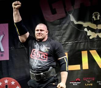 Mateusz Kieliszkowski w formie przed zawodami World's Strongest Man