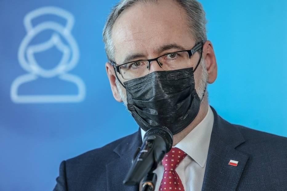 Minister zdrowia Adam Niedzielski podczas wizyty w Gdańsku, 3