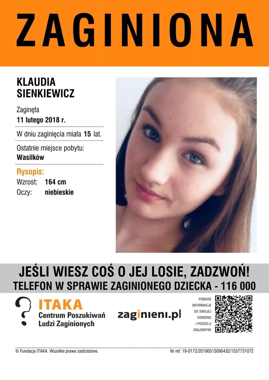Czy widziałeś tę osobę lub masz jakieś informacje na jej temat? Jeśli tak, skontaktuj się z Fundacją ITAKA! Tel