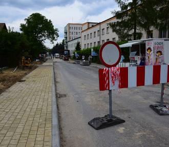 Prace przy ulicy Schinzla mogą zakończyć się wcześniej niż zapowiadano