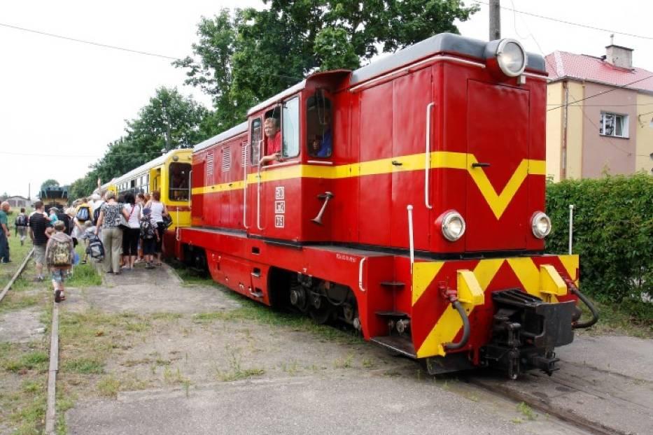 Nowy Dwór Gdański. Dworzec kolei wąskotorowej