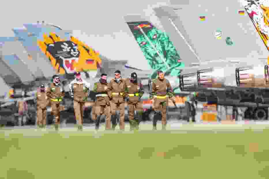 22 eskadry szkolą się na naszym niebie