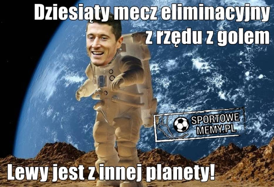"""MEMY Czarnogóra - Polska 1:2. Kosmiczny Lewandowski, Piszczek stawia kropkę nad """"i"""". Najlepsze memy!"""