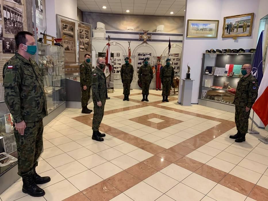 Wyróżnienie dla 15. Sieradzkiej Brygady Wsparcia Dowodzenia