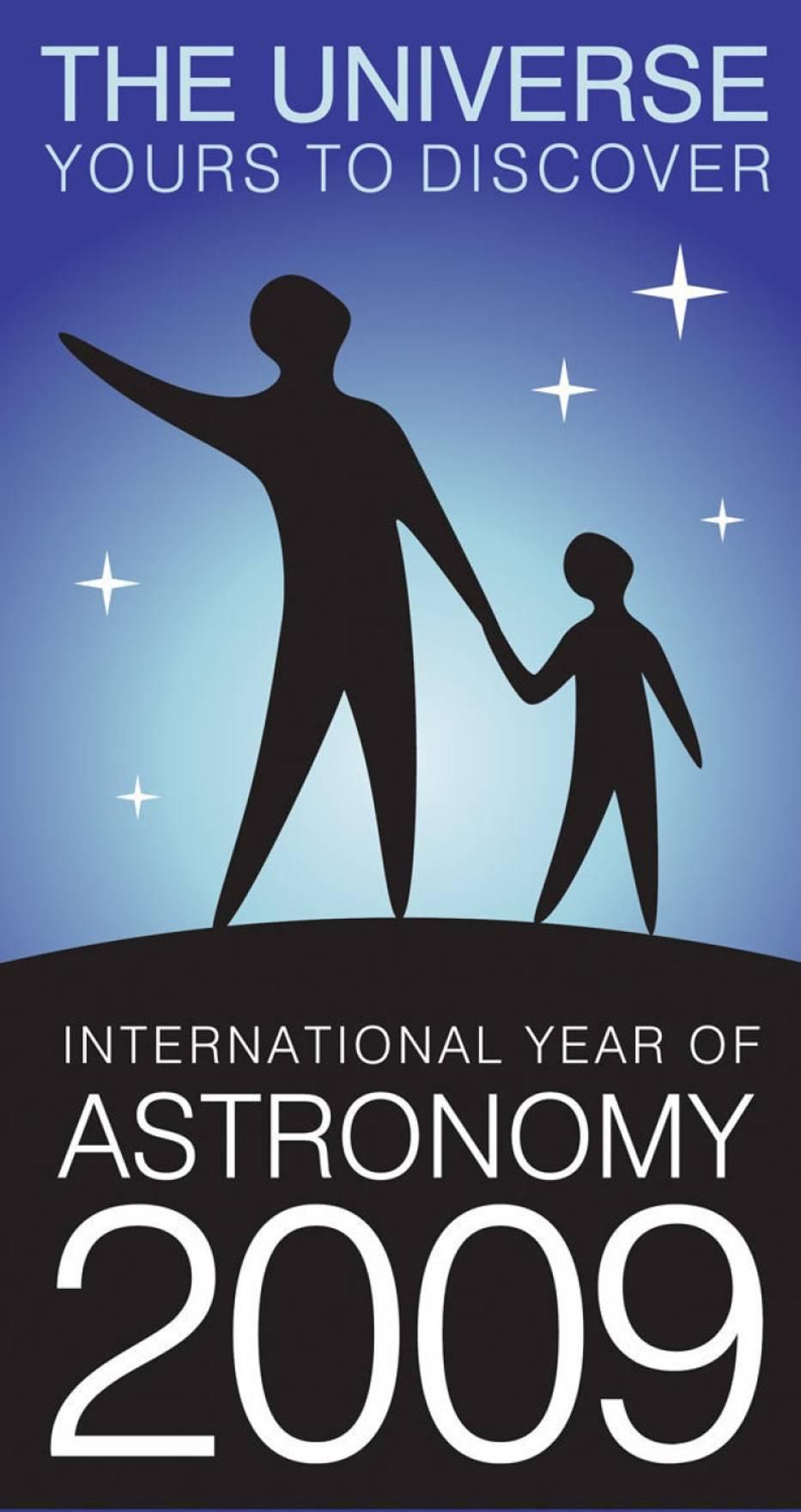 Logo Międzynarodowego Roku Astronomii