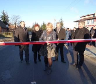 Droga Annopole Nowe - Zamłynie oficjalnie otwarta [zdjęcia]