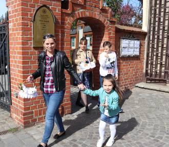 Wielkanoc 2019, Gniezno: Święconka w Farze w Gnieźnie [FOTO]