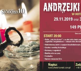 Andrzejki Tumskie w HOTELU TUMSKIM 29-30.11.2019