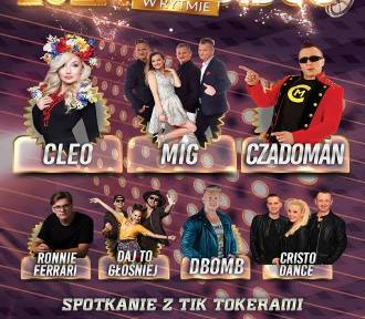 Nowy Staw. Żuławy w Rytmie Disco 2020 z Cleo, gwiazdami disco-polo i tiktokerami