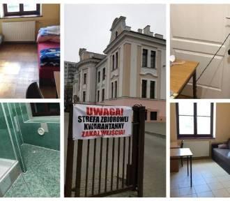Jak wyglądają miejsca zbiorowej kwarantanny w Polsce?ZDJĘCIA