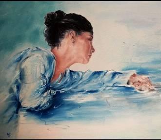 Kobieta pędzlem malowana - obrazy Marzeny Basińskiej