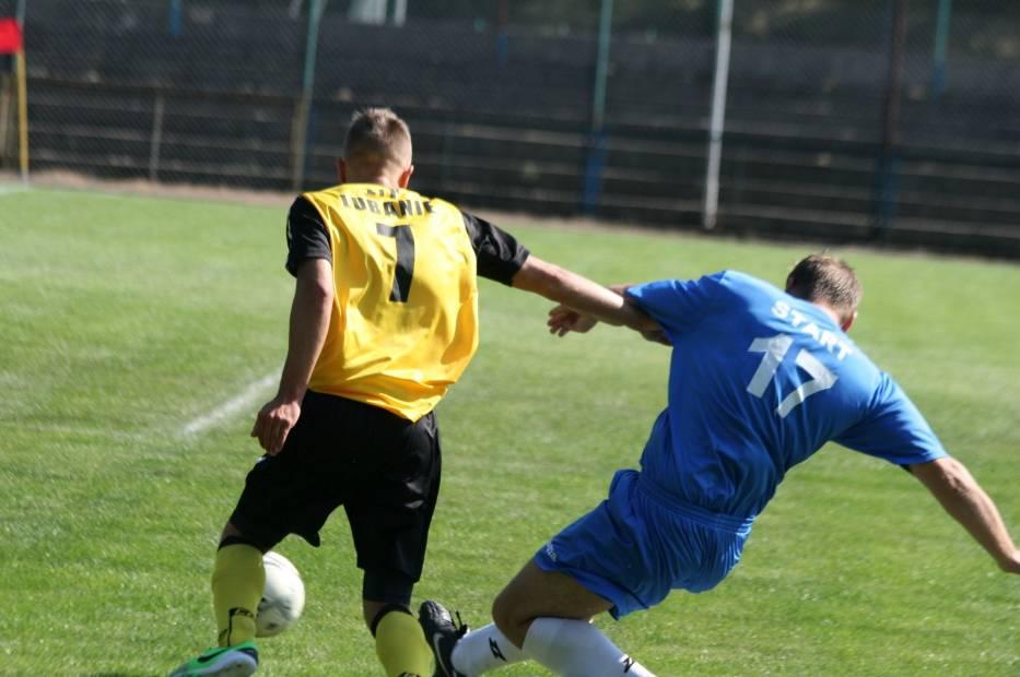 Start Radziejów - LTP Lubanie 4:4. Grad bramek w meczu 5. ligi [zdjęcia]