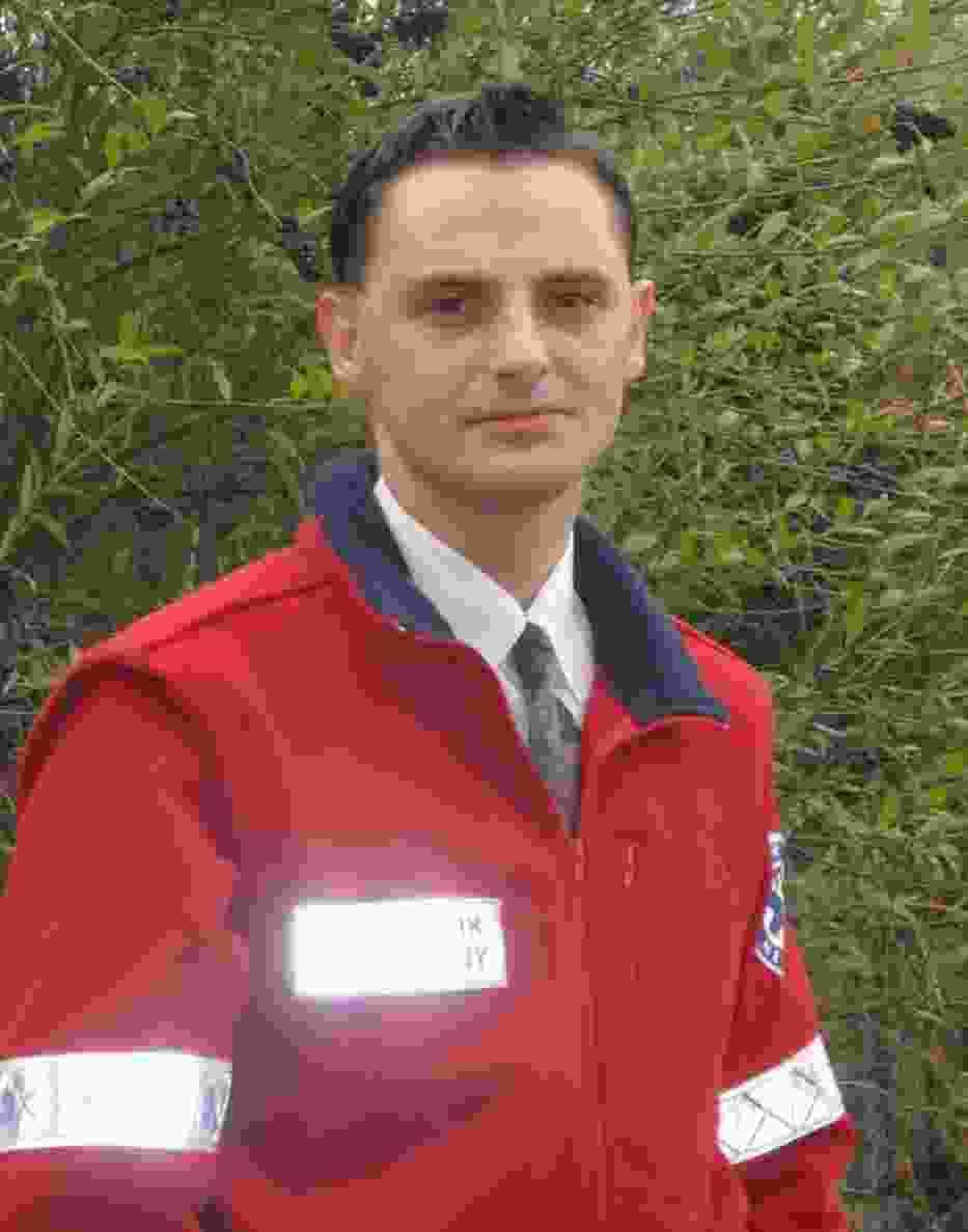 Na zdjęciu - Robert Szulc Prezes Miejskiego Klubu SHDK w Piotrkowie Trybunalskim przy SHDK RP