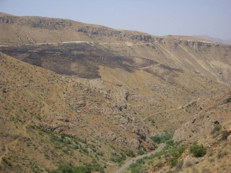 Krajobraz Górnego Karabachu