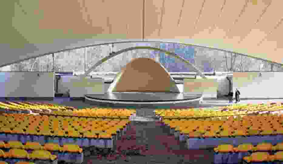 Zmodernizowany amfiteatr prezentuje się bardzo okazale