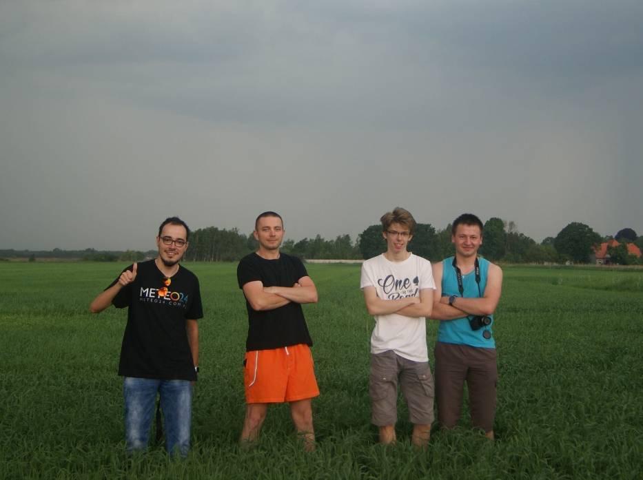 """Krotoszyńscy Łowcy Burz na """"polowaniu"""" w Trzebnicy"""