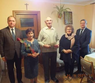 Złote i diamentowe gody trzynastu par małżeńskich z gminy Orły [ZDJĘCIA]