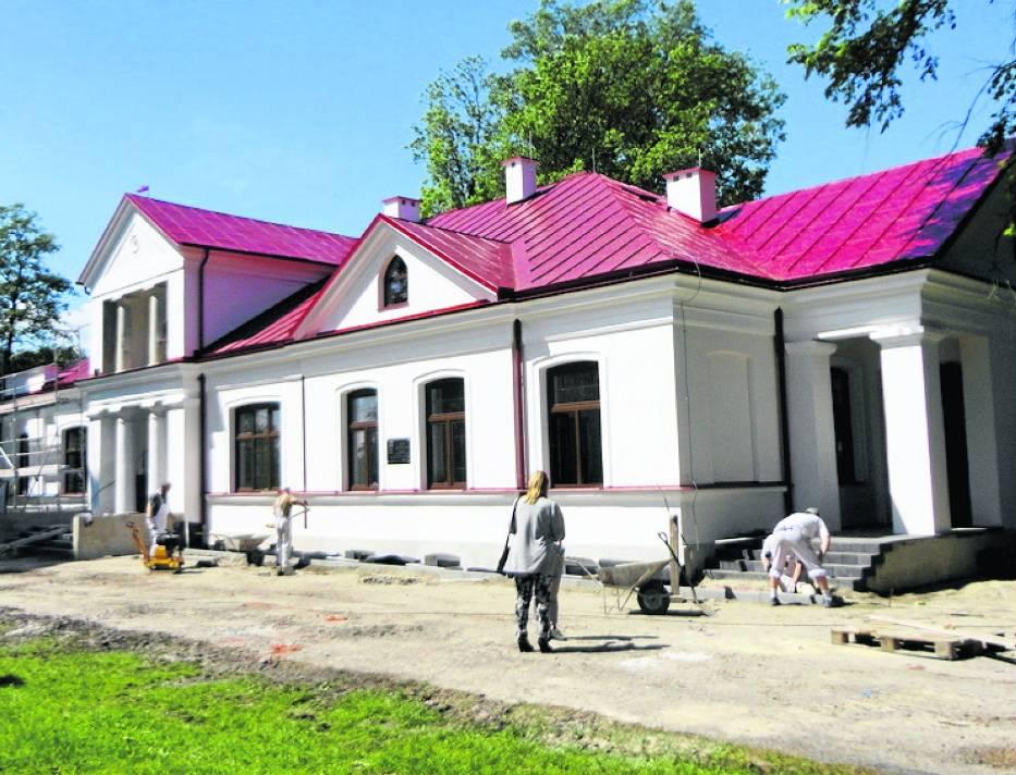 W dworze Kossaków w Kośminie będzie się mieścić siedziba LGD Zielony Pierścień