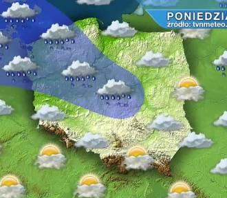 Pogoda na poniedziałek, 18 października. Poniedziałek pochmurny, deszczowy i wietrzny