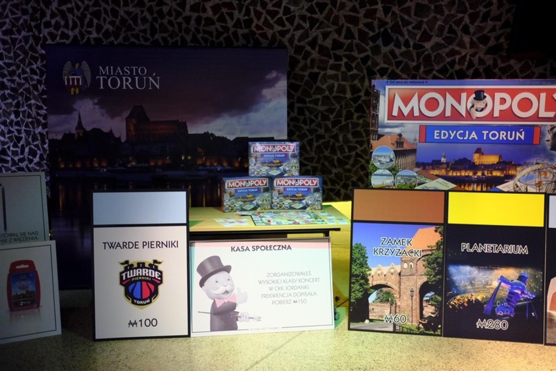 Monopoly Toruń zaprezentowane dziennikarzom. Oficjalna premiera już w weekend [ZDJĘCIA]