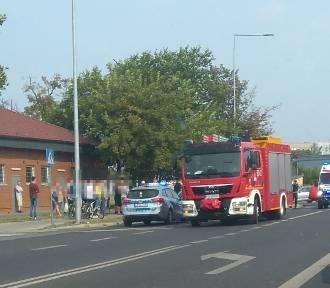 Dwa wypadki w Wągrowcu. Na miejscu pracuje policja