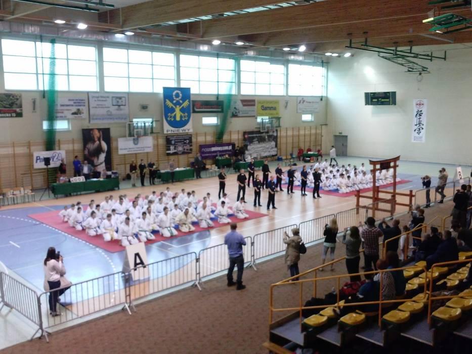 Krzysztof Balcerek w Pniewach wywalczył złoty medal dla Kaliskiego Klubu Karate Kyokushinkai
