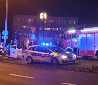 Radiowóz zderzył się z samochodem osobowym [ZDJĘCIA]