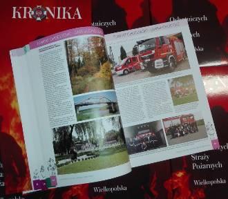 Kronika OSP w Wielkopolsce już w sprzedaży! Są w niej informacje o strażakach z powiatu chodzieskiego