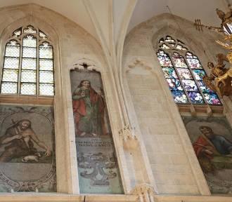 Wawel. Święci w katedrze znów są widoczni. A w podziemiach kamera zajrzy pod posadzkę