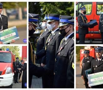 Strażacy OSP w Kujawsko Pomorskiem otrzymali vouchery na zakup sprzętu [foto, lista]