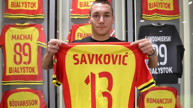 Mile Savković (ostatnio Jagiellonia Białystok)