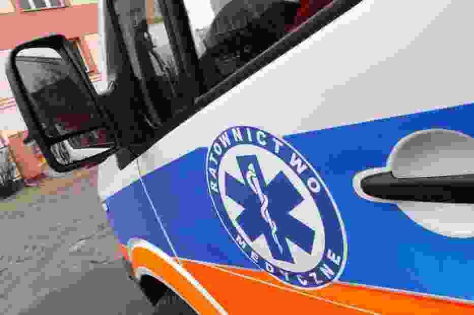 W wypadku zostało rannych 5 osób, w tym czworo dzieci
