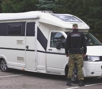 Kamper wart 100 tys. zł zabezpieczony przez Straż Graniczną z Kołobrzegu