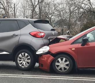 Smardzów: Kolizja trzech samochodów (ZDJĘCIA)