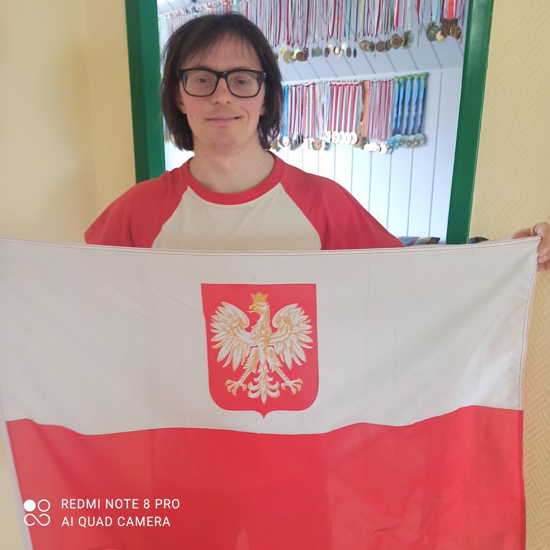 Pobili rekordy długości flag narodowych w Krośnie Odrzańskim i Gubinie! Mieszkańcy zmobilizowali się w sieci i wysyłali zdjęcia