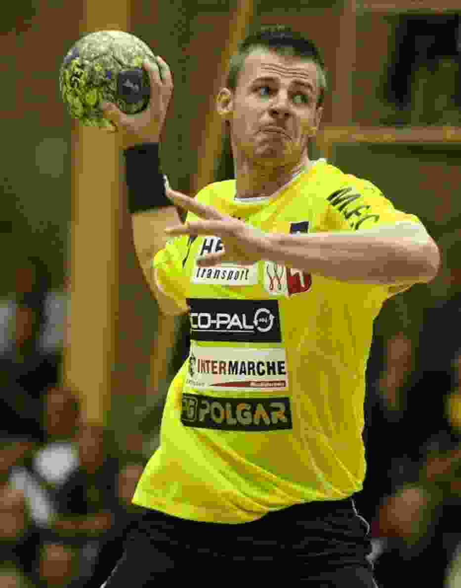 Dawid Przysiek rzucił w sobotę rywalom siedem bramek