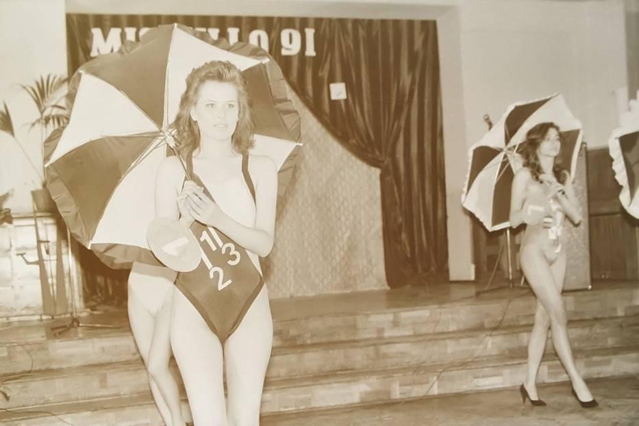 Wybory Miss III LO w Kaliszu w roku 1991