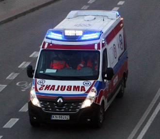 W podsądeckiej miejscowości strażacy ocalili samotnie mieszkającą 87-letnią kobietę
