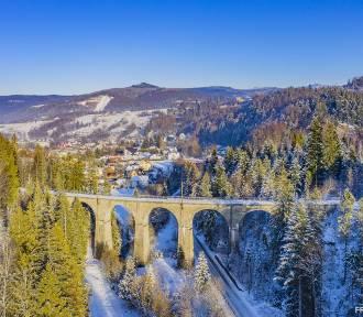 Zima w Beskidach: piękne zdjęcia z drona Wisły, Szczyrku, Istebnej