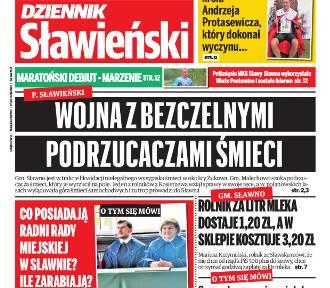 """""""Dziennik Sławieński"""" - pierwsza strona - 20 września 2019 r."""