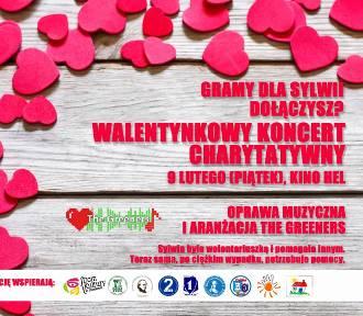 """Walentynkowy koncert charytatywny """"Gramy dla Sylwii"""""""
