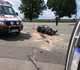 Ciężko ranny motocyklista w szpitalu, pijany kierowca aresztowany
