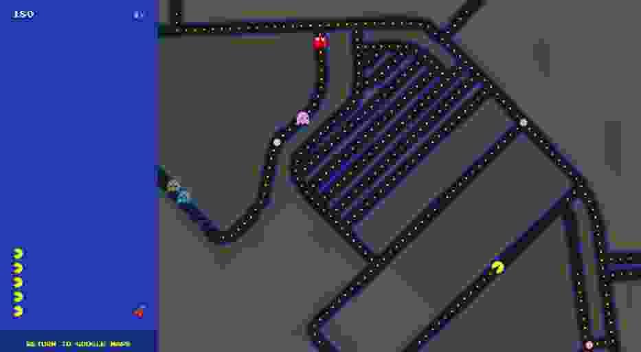 Na Google Maps pograsz... w Pac-Mana. W dowolnym miejscu na świecie!