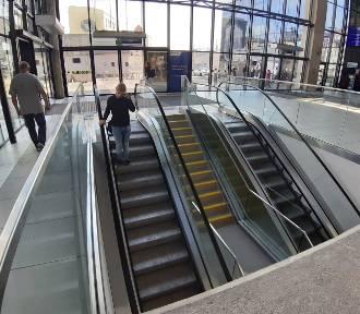 Nowe schody ruchome na dworcu w Katowicach już działają! ZDJĘCIA
