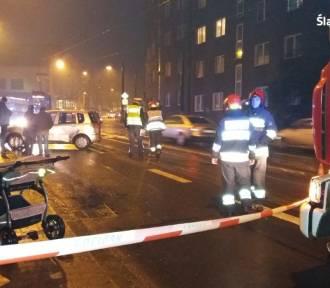 Wypadek w Zabrzu. Cztery osoby trafiły do szpitala