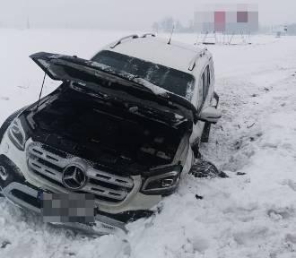 Wypadek w Gorczenicy pod Brodnicą. 29-latka, która go spowodowała trafiła do szpitala
