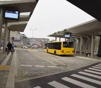 Centrum przesiadkowe w Ligocie. W poniedziałek odjechały stąd pierwsze autobusy ZDJĘCIA