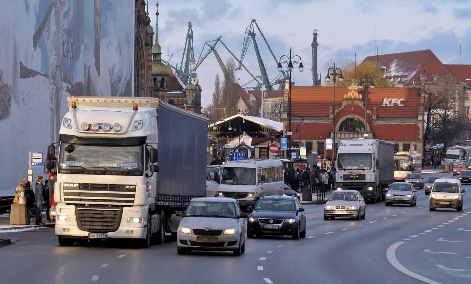 Czy wideorejestratory ograniczą ruch ciężarówek w Gdańsku?