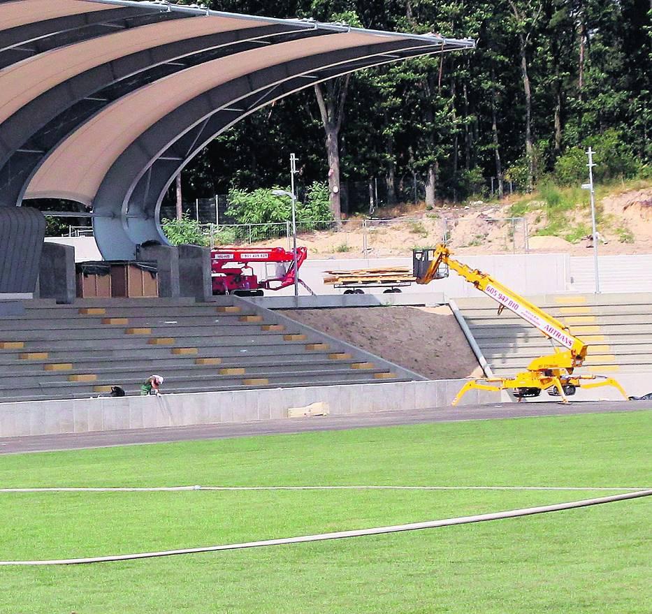Stadion w Puławach może gościć jedną z reprezentacji uczestniczących w Euro 2012