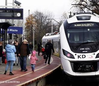 Nowy rozkład jazdy pociągów na Dolnym Śląsku od 9 grudnia 2018 r. (MAPKA)